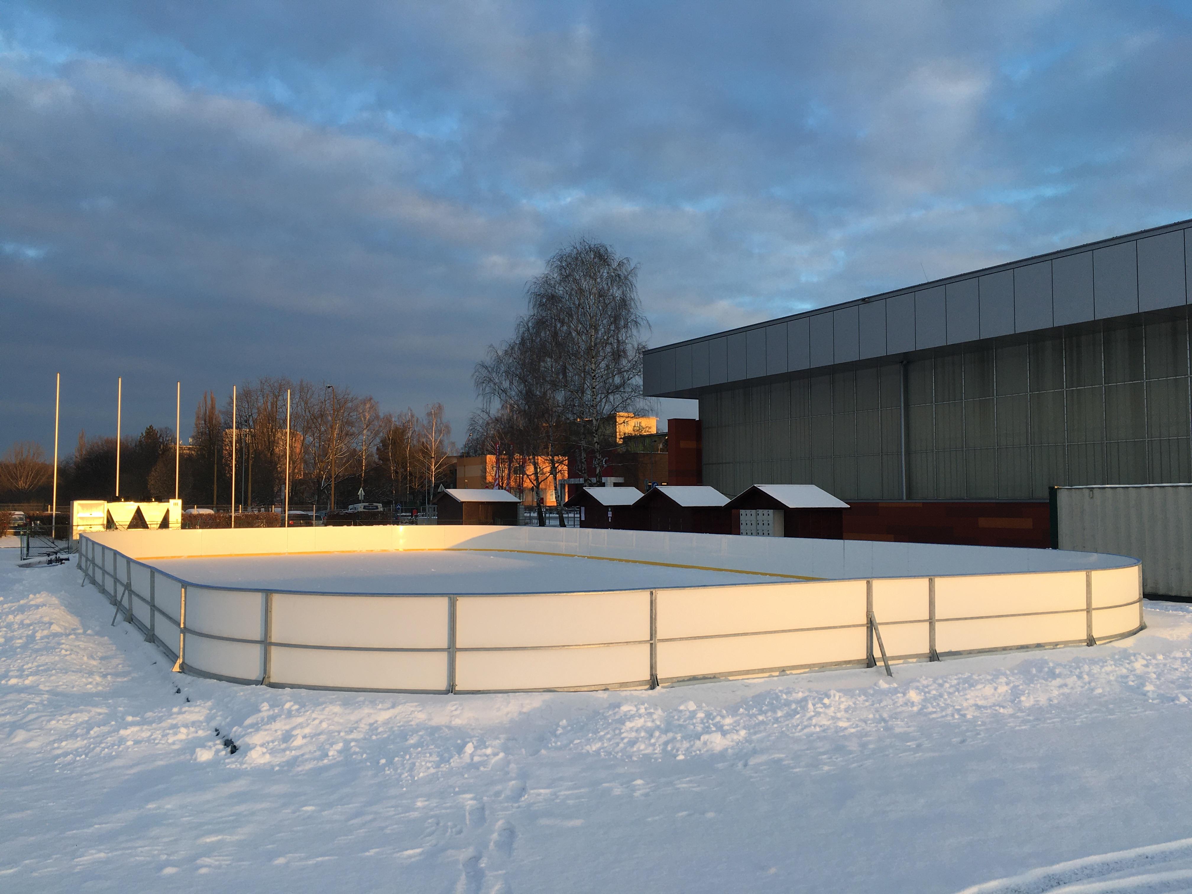 Mobilní ledová plocha
